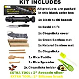 Sushi Making Kit, All In One Sushi Bazooka Maker