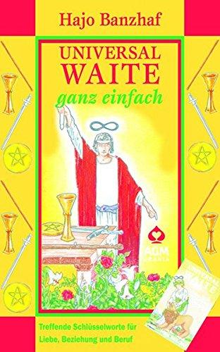 Universal Waite - ganz einfach: Set mit Karten und Buch