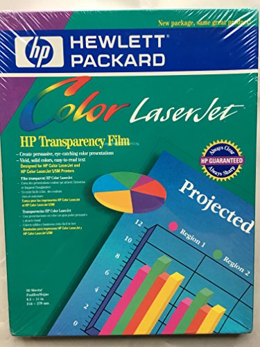 (HP Color LaserJet Transparency Film)