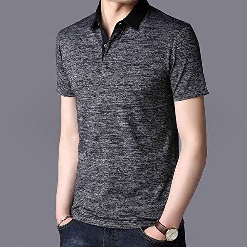 個性 シャツ メンズ 半袖 開襟シャツ カジュアル ゆったり 無地 和風 綿 大きいサイズ 夏 春秋 (XXL, グレー)