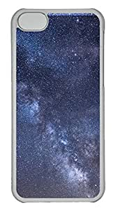 iPhone 5C Case Milky Way Galaxy PC iPhone 5C Case Cover Transparent
