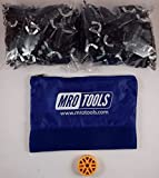 100 5/32 Standard Wing-Nut Cleco Fasteners with HBHT Tool & Bag (KWN1S100-5/32)