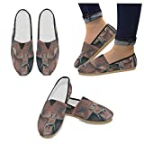 InterestPrint leather bag Loafers Casual Shoes for Men Women