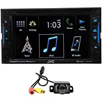 JVC KW-V130BT 6.2 2-Din DVD Player Receiver w/Bluetooth iPhone/Android+Camera