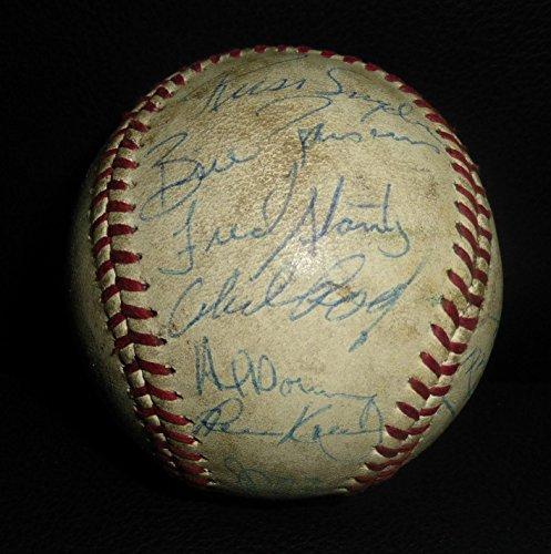 - Al Downing Autographed Baseball - 1970 Team 18x LOA Inaugural Season w - PSA/DNA Certified - Autographed Baseballs