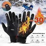 HCBY Winter Gloves, Touchscreen Gloves Men Women