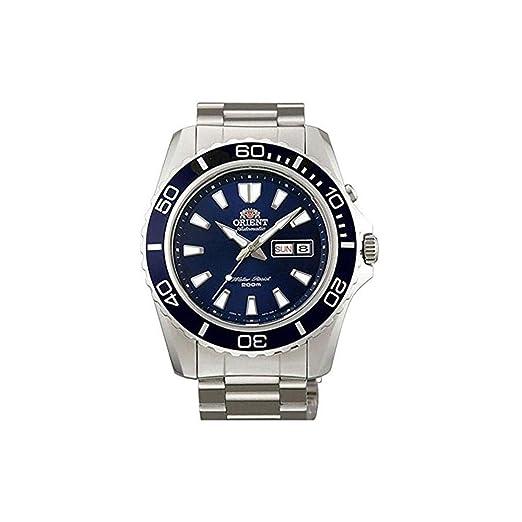 Orient Reloj Analogico para Hombre de Automático con Correa en Acero Inoxidable FEM75002D6: Amazon.es: Relojes