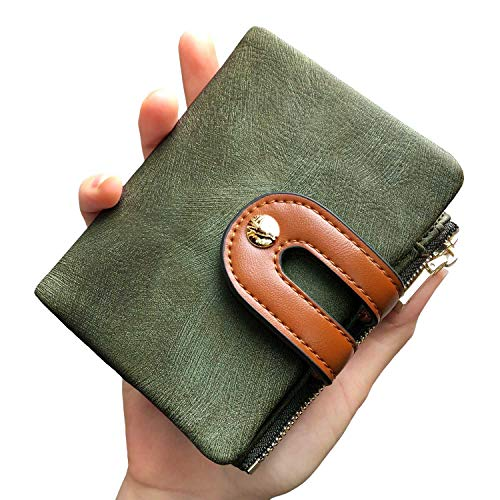 Womens Wallets Ladies Bifold Compact