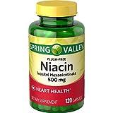 Spring Valley Dietary Supplement Flush Free Niacin 120 CT
