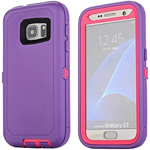 Galaxy S7 Case, Lookly [Armorbox Series] Heavy Duty Rugged Scratch Resistant Shockproof Full Body Protective with Built-in Screen Protector Case for Samsung Sales