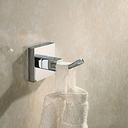タオルフック真鍮コートハンガーシングルフックタオルコートforキッチントイレバスルームベッドルーム1個。 B01G50SN3Y