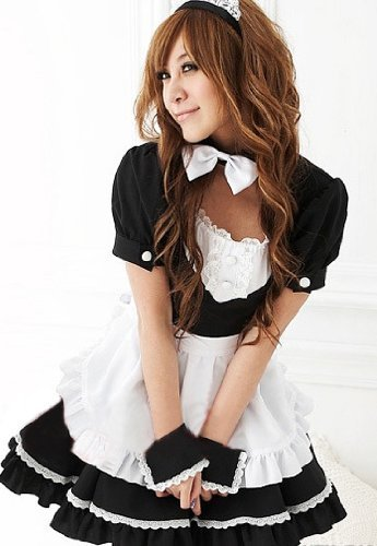 galaxy sexy cosplay japanese maid lolita sexy cosplay