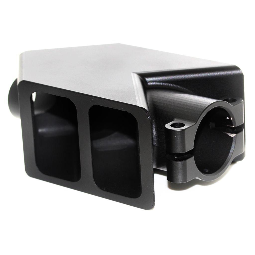 Airsoft Softair Ausr/üstung CNC Aluminium Tank M/ündungsbremse FlashHider Compensator f/ür Snow Wolf M82