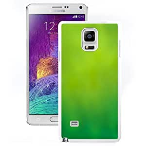 DIY and Fashionable Cell Phone Case Design with Green Lime Blur iOS7 Galaxy Note 4 Wallpaper in White