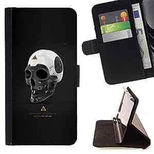 Momo Phone Case / Flip Funda de Cuero Case Cover - Casi Android;;;;;;;; - Samsung Galaxy S6