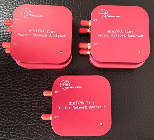(1M-3GHz Vector Network Analyzer miniVNA Tiny Plus2 VHF/UHF/NFC/RFID RF Antenna Analyzer Signal Generator SWR/S-Parameter/Smith)