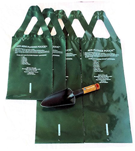 Original Hanging Flower Pouch Variety Bundle Includes Trowel 3 of 10 Slit 2 of 6 Slit (Flower Pouch)