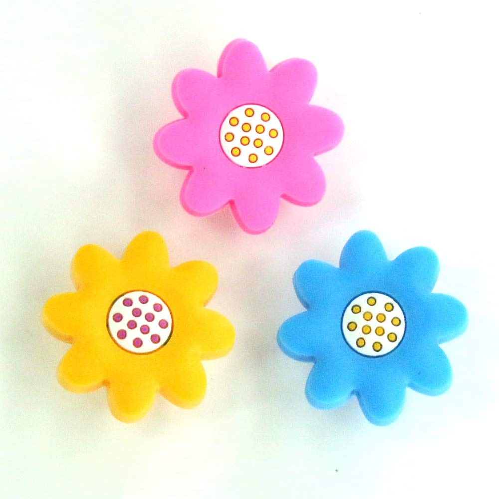 Jacana Boutique Non-toxic Eco Soft PVC Sunflower Knob Baby Room Wardrobe Handle Drawer Pull Closet Dresser Handles Knob