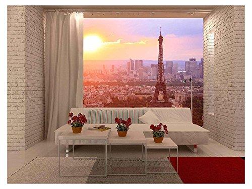 Eiffel Tower Paris at Sunset Beautiful Colors