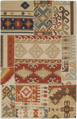 Patch Work Brick Rug Rug Size: 2' x 3' Brick Southwestern Rug