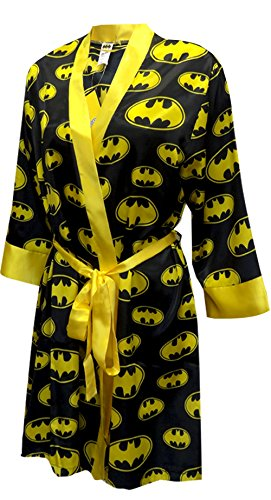 Batman Logo Ladies Satin Robe