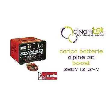 Telwin Alpine 20-Cargador Para Baterías 12-24 V Boost 18 A ...