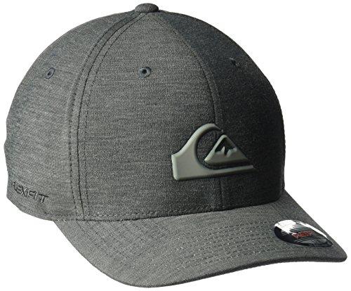 Quiksilver Stretch Hat (Quiksilver Men's Union Stretch Cap Hat, Black, Small/Medium)