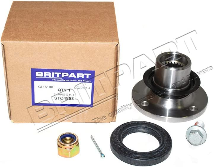 STC4858 BRITPART DIFFERENTIAL FLANGE KIT COMPATIBLE WITH LAND ROVER DEFENDER 90//110 1993-1997 PART # STC3722