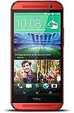 HTC One (M8) 16GB 4G Red - smartphones (Single SIM, Android, NanoSIM, GSM, HSDPA, LTE)