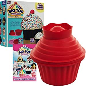 Amazon Com Big Top Cupcake Silicone Bakeware Novelty