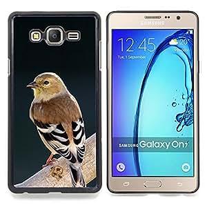 - nature ornithology spring bird branch - - Modelo de la piel protectora de la cubierta del caso FOR Samsung Galaxy On7 G6000 RetroCandy