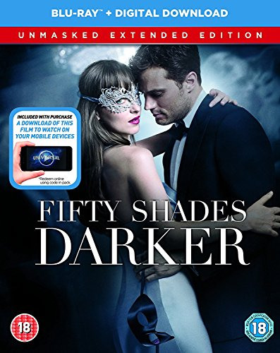 Fifty Shades Darker Unmasked Edition [Blu-ray]