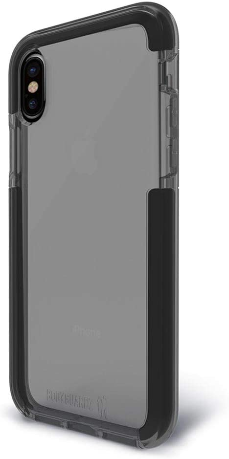 BodyGuardz - Ace Pro Case for iPhone X/iPhone Xs, Extreme Impact and Scratch Protection (Smoke/Black)