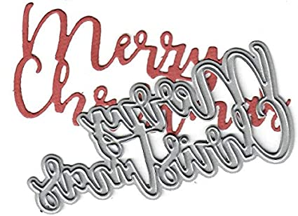 2a8881ef21a7 Dies to die for Metal Craft Cutting die - Merry Christmas Word - Holiday  time