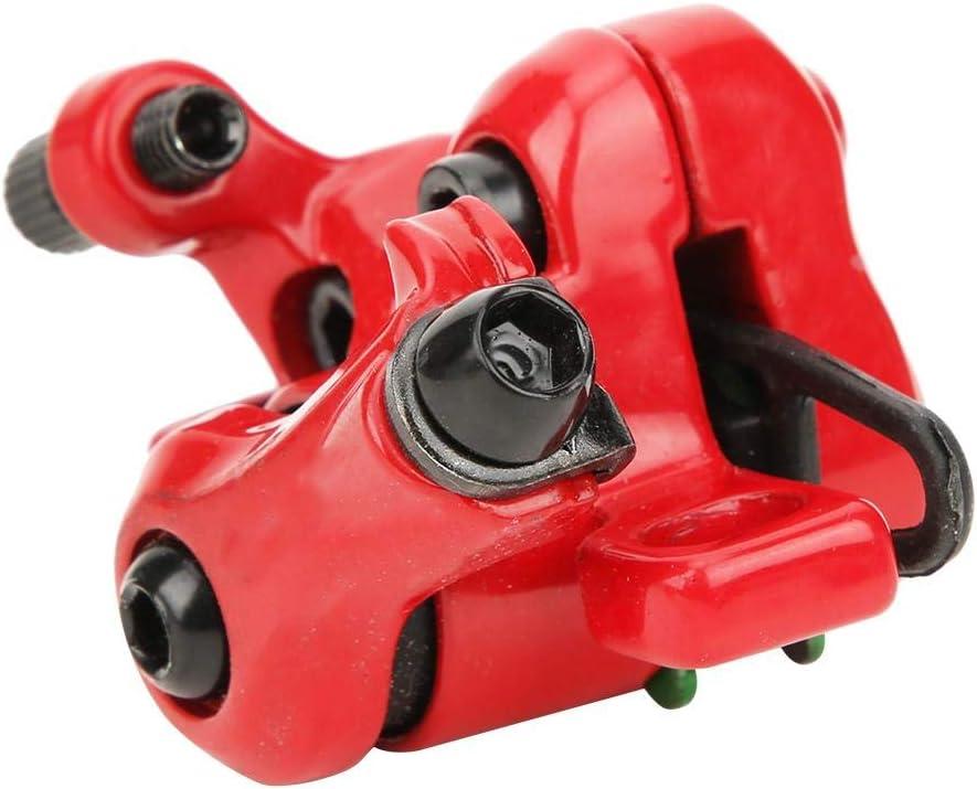 Rojo MAGT Freno de Disco de Scooter el/éctrico Accesorios de Equipo de Freno de Disco de Rueda Trasera compacta de Metal Xiaomi 365 Scooter el/éctrico