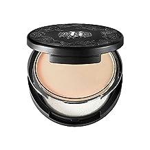Kat Von D Lock-it Powder Foundation 0.31 Oz Light 44 light complexion with pink beige undertone by Kat Von D