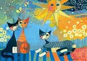 Heye 29317 Rosina Wachtmeister - Puzzle con diseño de gatos (2000 piezas)