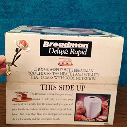 Breadman TR444 2-Pound Rapid-Bake Horizontal Breadman