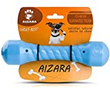 Aizara Durable Dog Chew Toys for Aggressive Chewers Dogs, Indestructible Rubber Puppy Chew Toy for Large Small Dogs - Tough - Floating Dog Toys