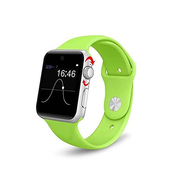 Amazon.com: Lemfo LF07 Bluetooth Smart Watch 2.5D ARC HD Screen Support SIM Card Wearable Devices SmartWatch For IOS Android, arm green: Cell Phones & ...