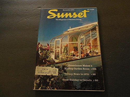 - Sunset Mag Of Western Living Nov 1974 Greenhouse Rooftop Garden
