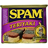 Spam, Teriyaki Flavored, 12oz Can (Pack of 6)