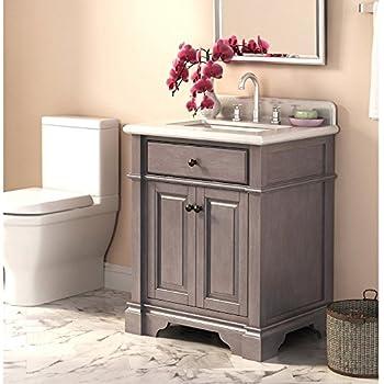 Lanza Casanova WF6956 28 28 In. Single Bathroom Vanity Set
