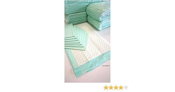 50 - 400 Empapadores desechables de alta calidad 60 x 90 cm, almohadillas para la incontinencia: Amazon.es: Salud y cuidado personal