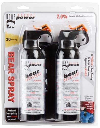 Udap BS2 7.90z. 225g Bear Spray 1 Quality and Safety Tested for even the toughest environments Protect yourself and your family with quality UDAP products Must need tool for all campers and outdoor enthusiasts