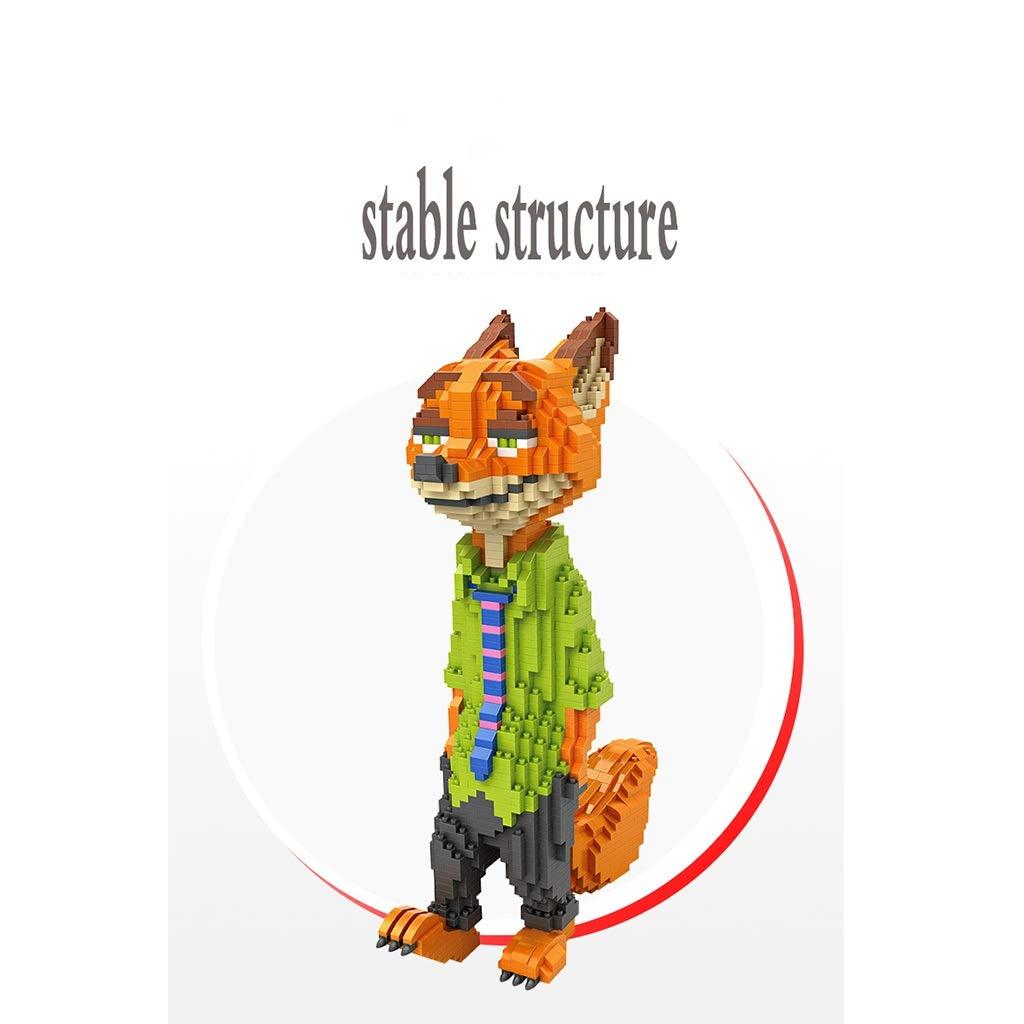 ビルディングブロックの大きい形の子供の教育おもちゃ、創造的な呪文の挿入物の微粒子 (色 : A)  A B07RB8KJS2