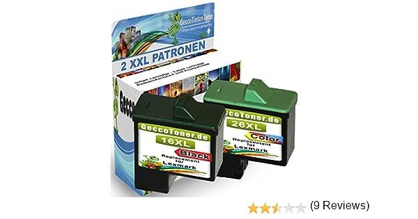 Premium Conjunto de 2 Cartuchos de Tinta Compatible con Lexmark ...