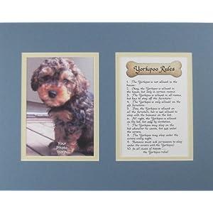 Dog Rules Yorkipoo Wall Decor Humorous Pet Dog Saying Keepsake Gift 3