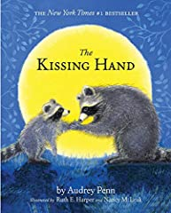 School is starting in the forest, but Chester Raccoon does not want to go. To help ease Chester's fears, Mrs. Raccoon shares a family secret called the Kissing Hand to give him the reassurance of her love any time his world feels a little sca...