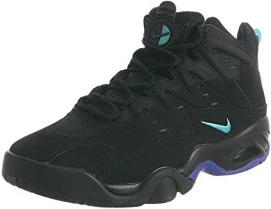 Nike AIR FLARE mens fashion-sneakers 705438 (7.5, Black/Persian violet)
